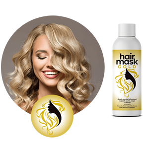 hair mask gold
